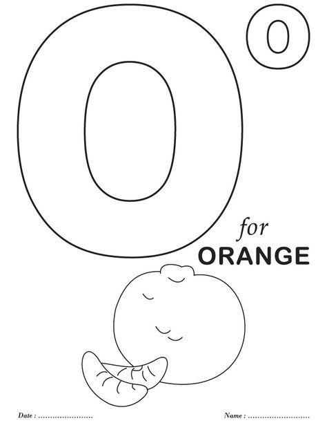 coloring pages for the letter o | Printables Alphabet O Coloring Sheets | Download Free Printables Alphabet O Coloring Sheets for ...