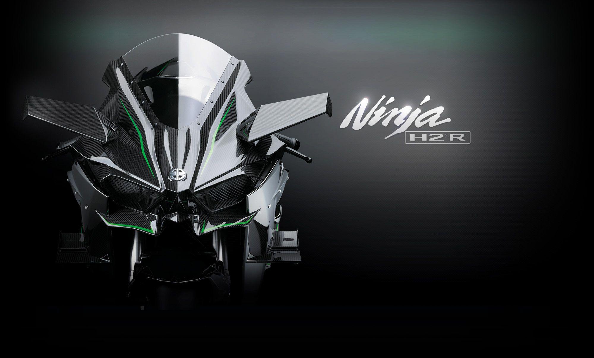 300hp Kawasaki Ninja H2r มอเตอร ไซค มอเตอร ไซค แต ง