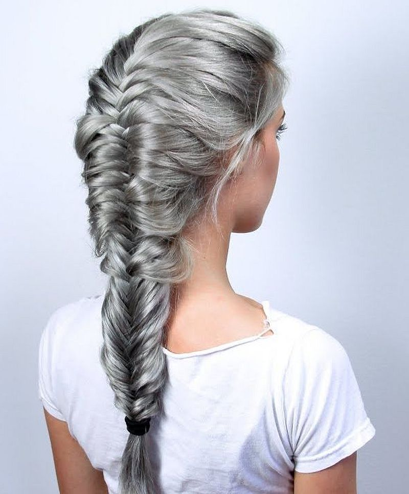 37 Beautiful Fishtail Braid Hairstyles You Should Try Page 19 Of 37 Fashion Star Braided Hairstyles Hair Styles Fish Tail Braid