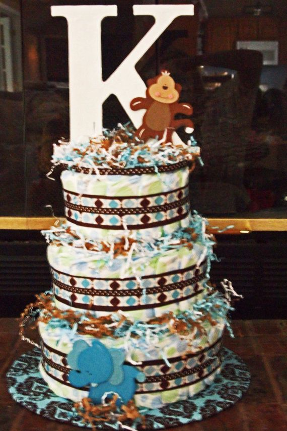 CUSTOM DIAPER CAKES  Great for baby shower  by CAKEitUPaNOTCH