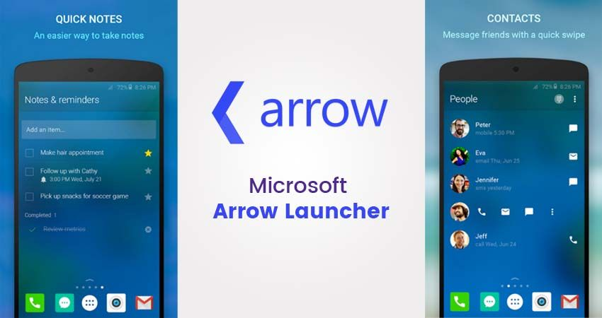 Arrow Launcher Allow users to change the name and app icon