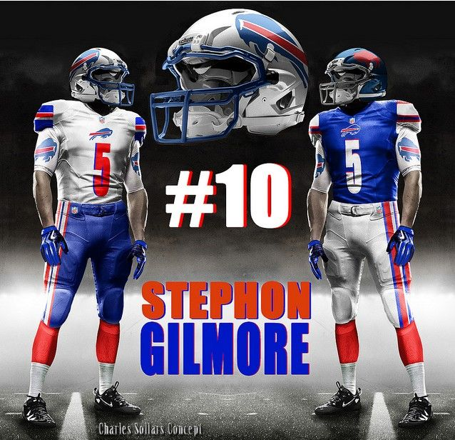 Buffalo Bills Uniform Concept Football Helmets Football