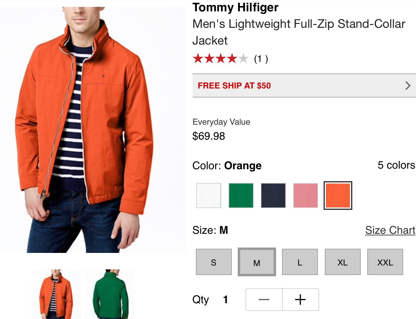 Tommy Hilfiger Stand collar jackets, Eclectic fashion