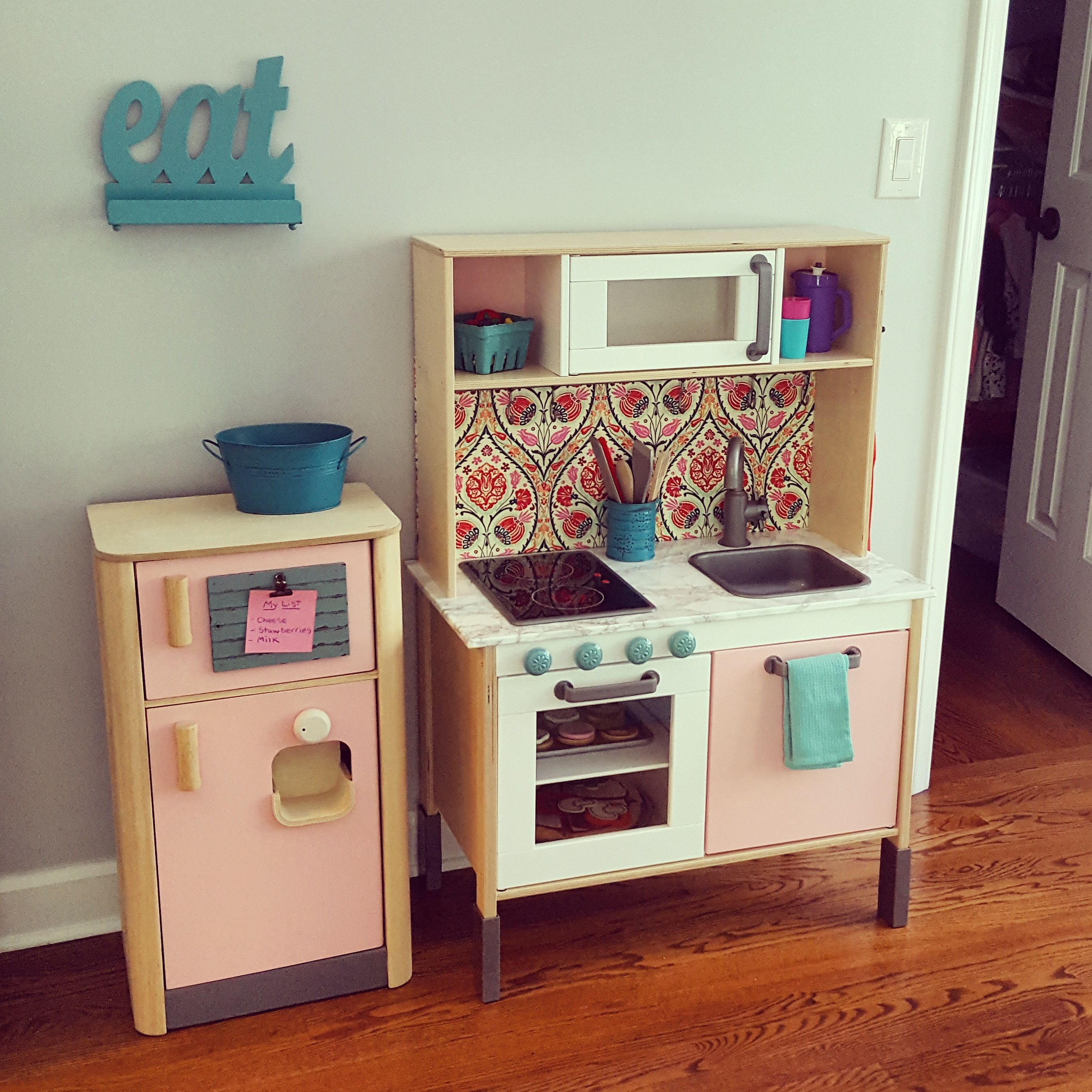 Trofast Ikea Küche Ikea Duktig Play Kitchen Hack Viv 39s Bedroom In 2019
