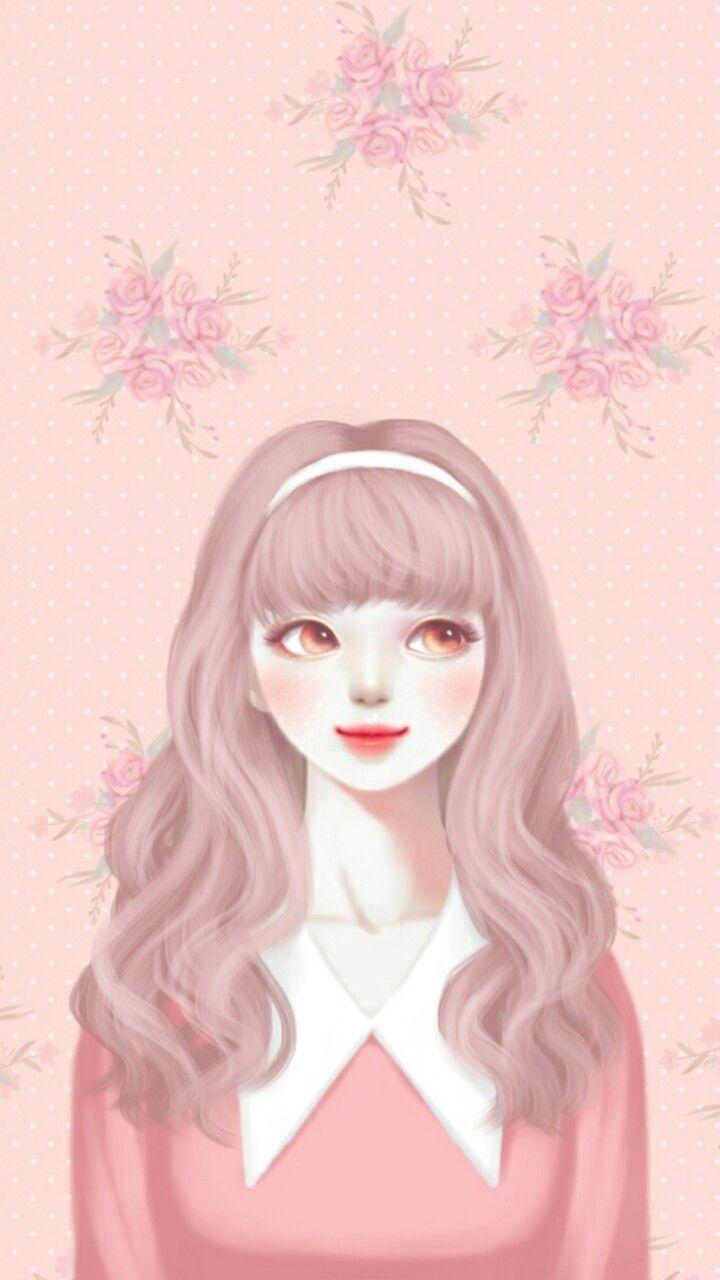 Enakei Cute Girl Wallpaper Cute Cartoon Girl Lovely Girl Image