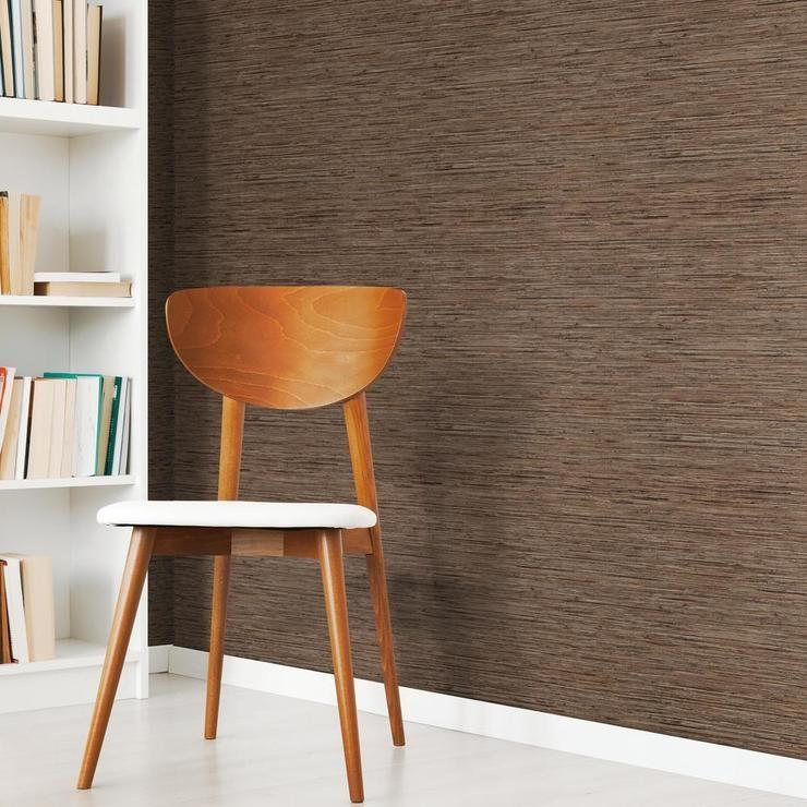 Faux Grasscloth Peel And Stick Wallpaper Peel And Stick Wallpaper Home Decor Wall Coverings