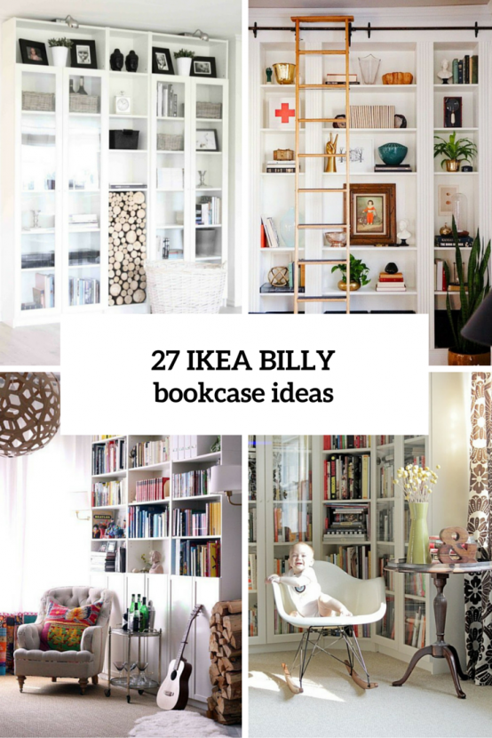 37 awesome ikea billy bookcases ideas for your home ikea. Black Bedroom Furniture Sets. Home Design Ideas