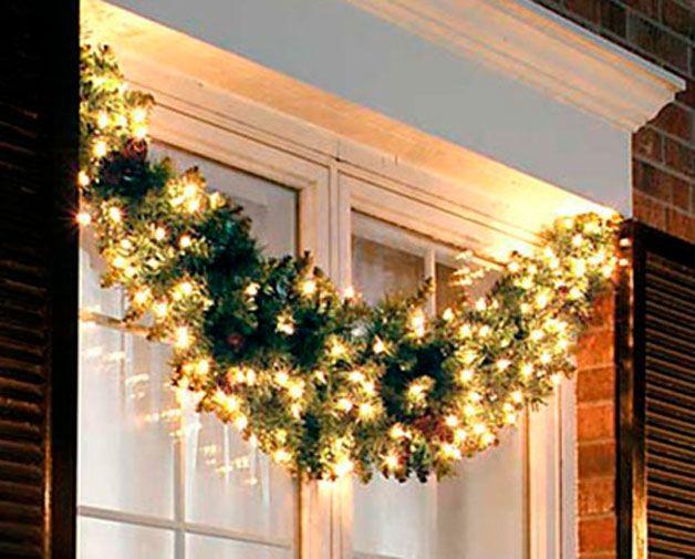 En fotos decora las ventanas de tu casa durante estas fiestas