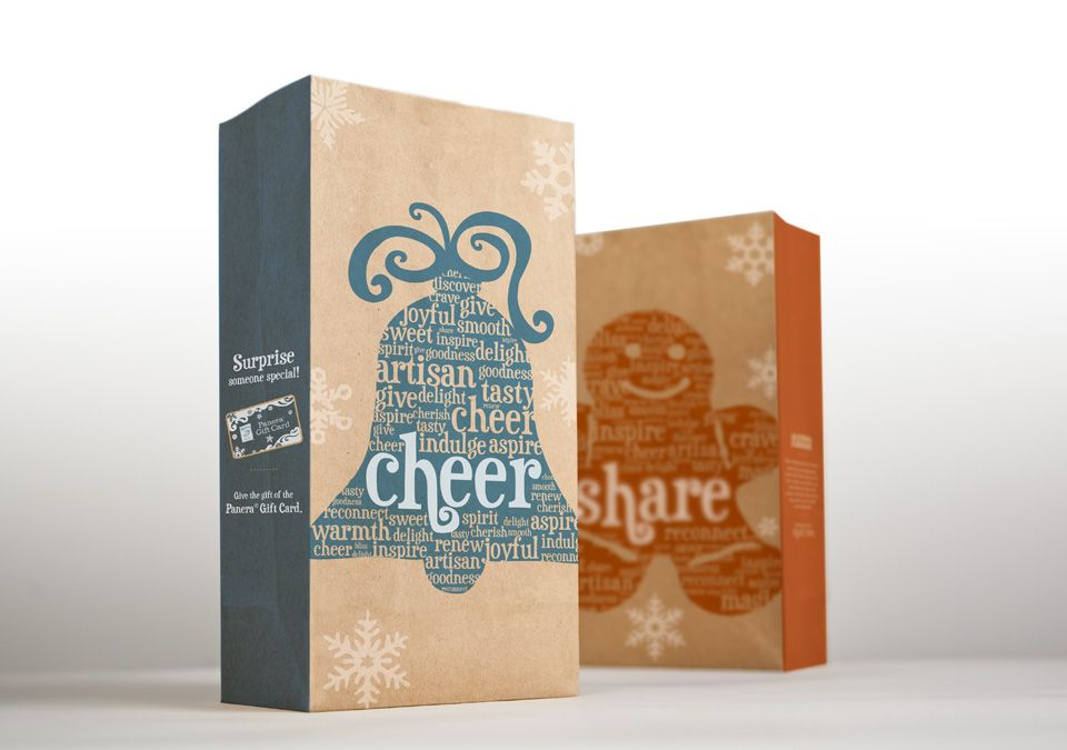 Panera Bread Coffee Box Brilliant Mitre Agency  Panera Bread  Holiday Bags  Mitre Packaging Design Decoration
