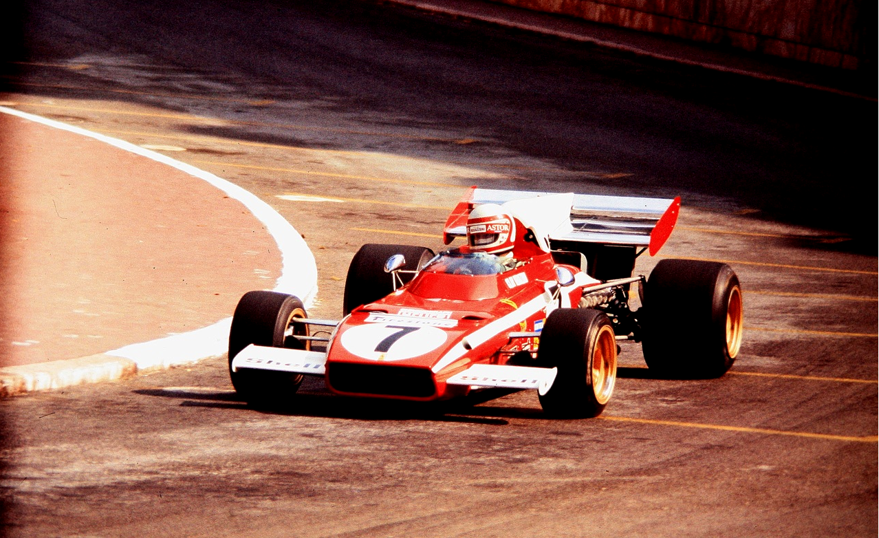 Clay Regazzoni Ferrari 312 B2 Monaco 1972 | Hitching Rides ...