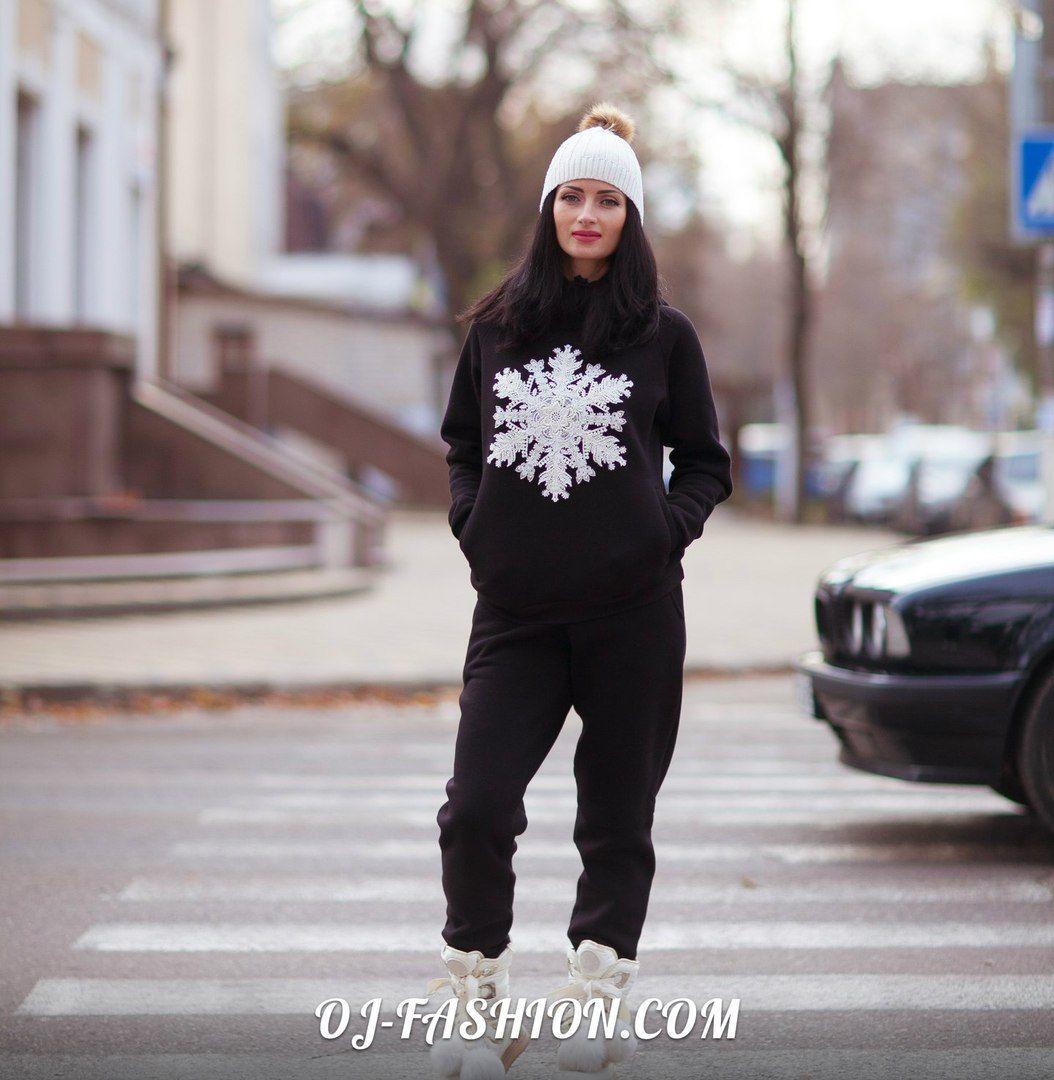 """Warm TRACK SUIT """"Snowflake""""  Shop this look on O&J: http://oj-fashion.com"""
