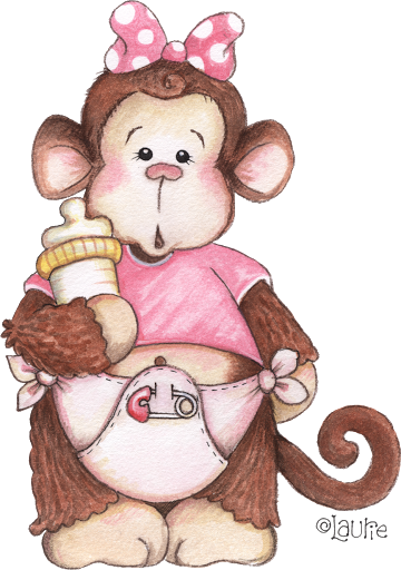 Picasa Web Albums Paulita 2 Monos Baby Clip Art Cute Art Cute Clipart