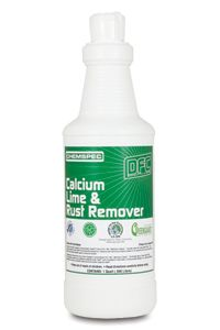Dfc Calcium Lime Rust Remover From Chemspec Is A Green Seal Certified Unique Non Corrosive Acid Side Cleaner That Safely Breaks Down Hard Water Deposits