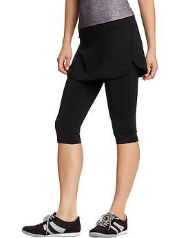 b31e2a0091f34 Women's Old Navy Active 2-in-1 Skirt Capris | Old Navy I need this ...