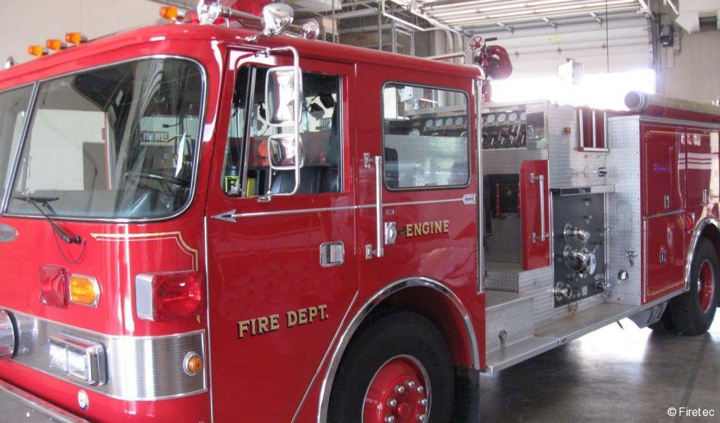 Used Fire Truck  1985 Pierce Arrow