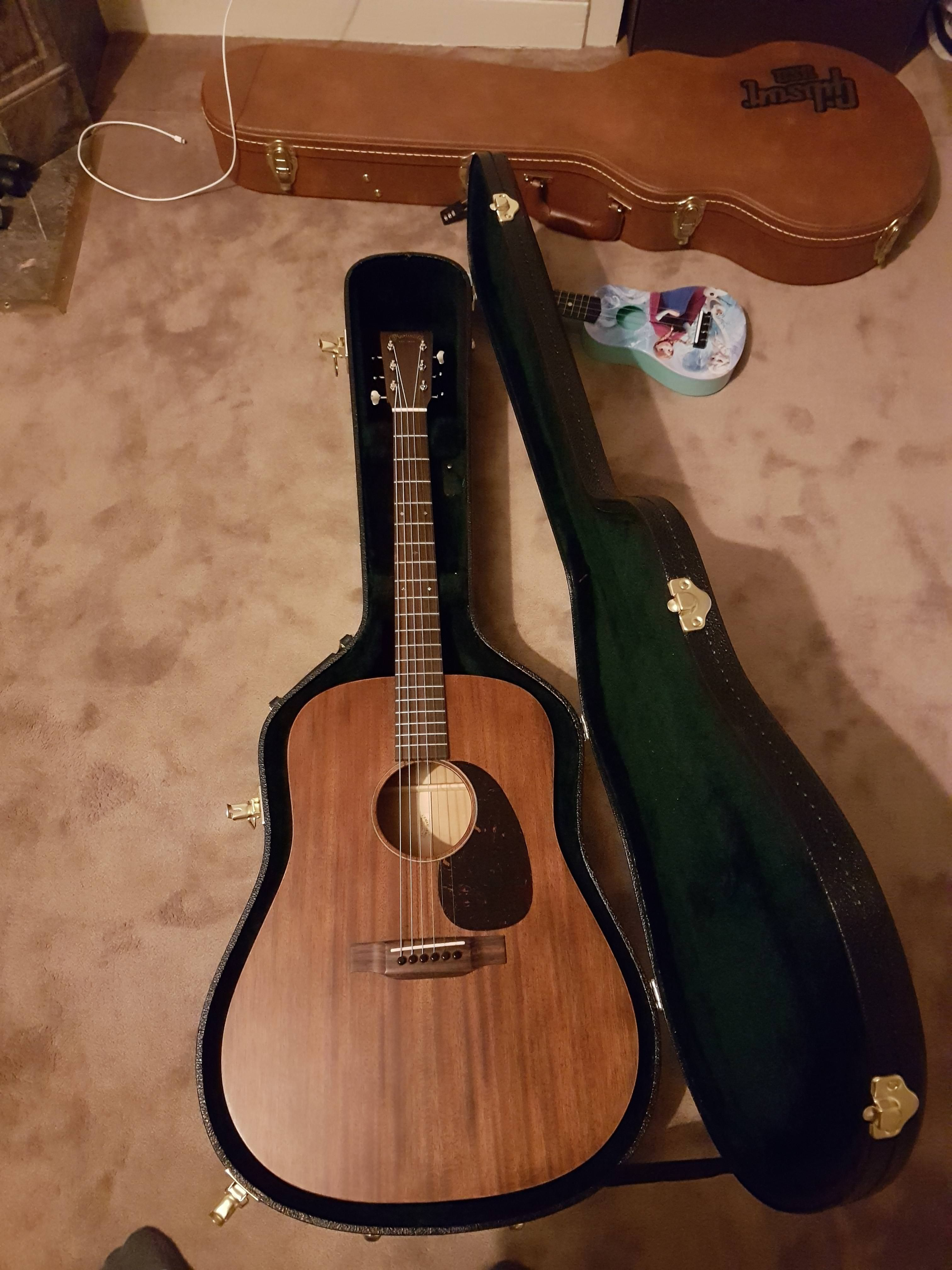 Ngd Martin D 15m Was Planning On A Drs1 And Upsold Myself Sounds Beautiful Martin Acoustic Guitar Guitar