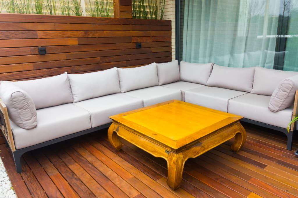 Chill Out De Madera Balcones Y Terrazas De Estilo Moderno De