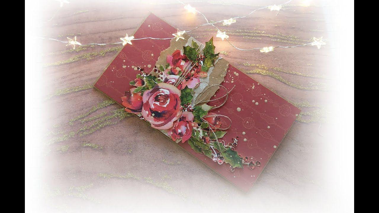Swiateczne Inspiracje Pierwsza Kartka Swiateczna Gift Wrapping Gifts Wrap