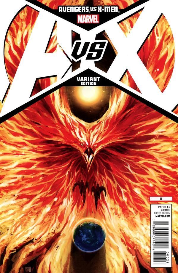 Avengers Vs X Men 0 Variant By Stephanie Hans Avengers Marvel Marvel Comic Books