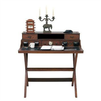 Design Wooden Bureau Colonial Desk Office Furniture From