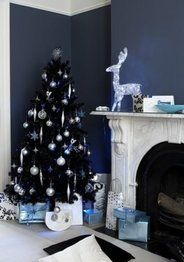 Árbol navideño negro