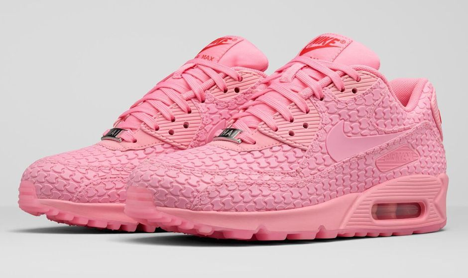 """best service 9d4c4 061d0 Nike Air Max 90 Diamondback """"Shanghai"""" (Must Win Cake) Space Pink/Challenge  Red/Space Pink"""
