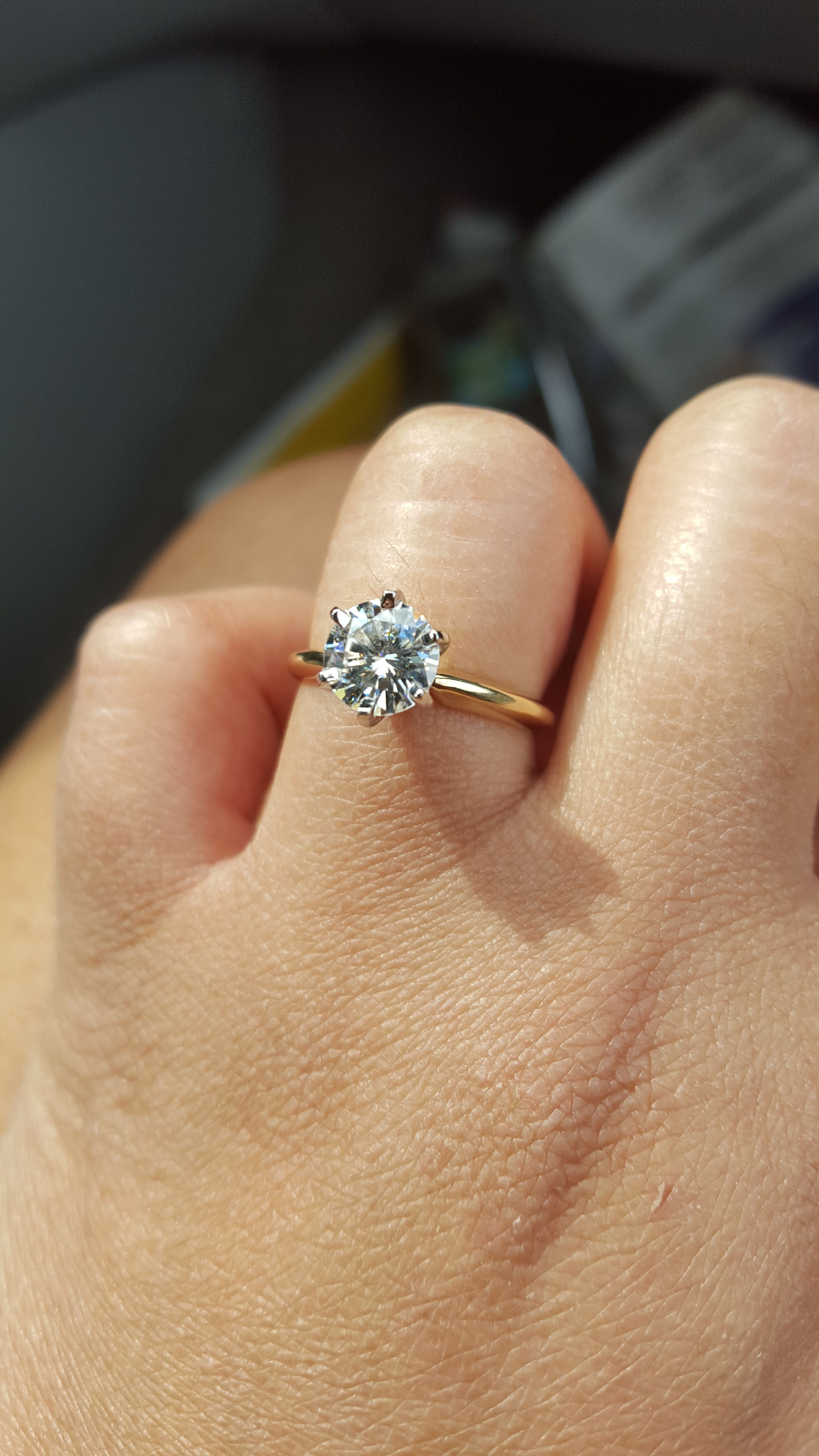 Plz Help Eternity Ring To Go With 6 Prong Solitaire Sol011 F1