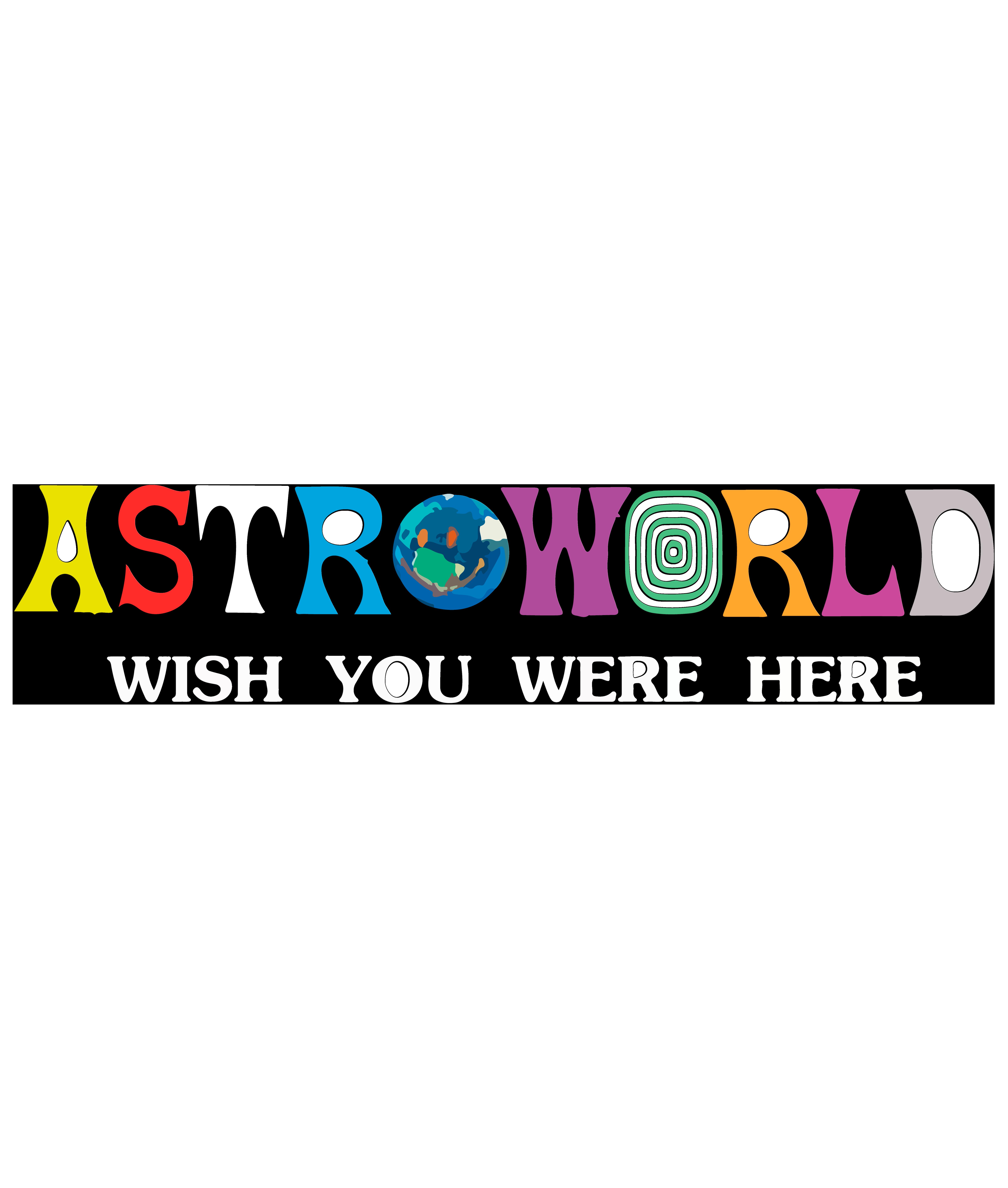 Travis Scott Astroworld Iphone Case Stickers Aesthetic Stickers Graffiti Logo