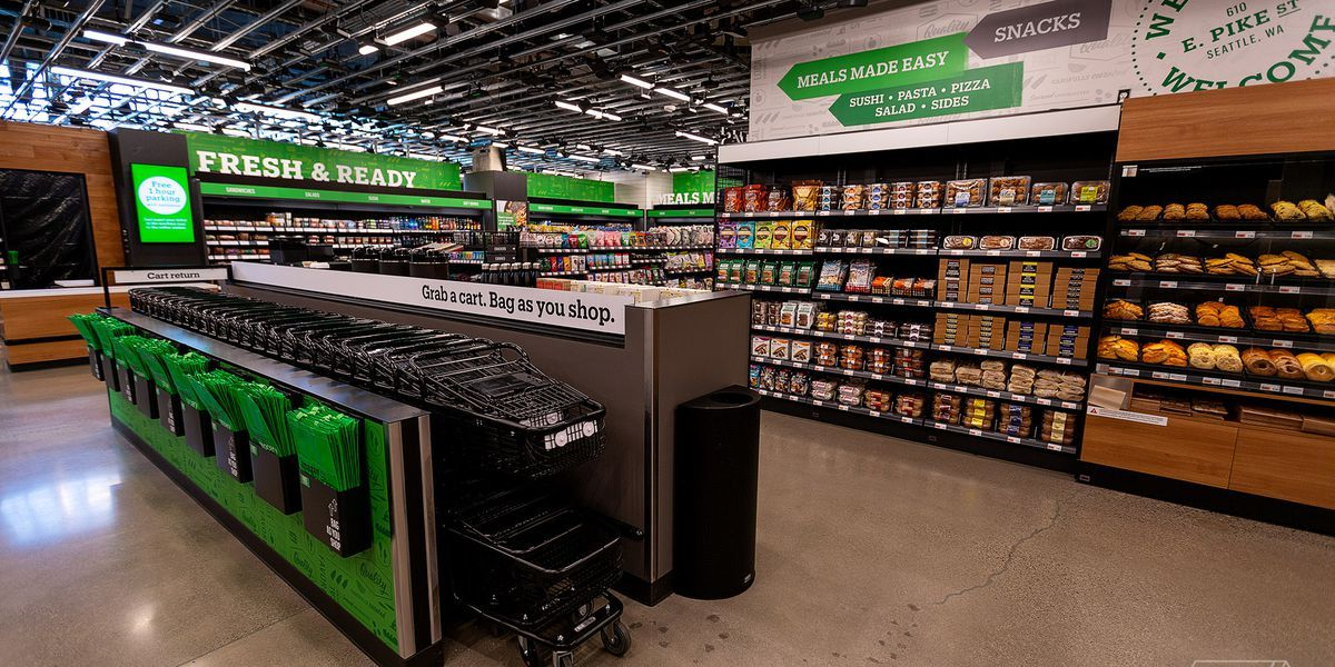Amazon Is Expanding Its Cashierless Go Model Into A Full Blown Grocery Store Grocery Store Grocery Grocery Market
