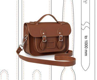 Leather Messenger Bag Pattern Cambridge Satchel Pattern