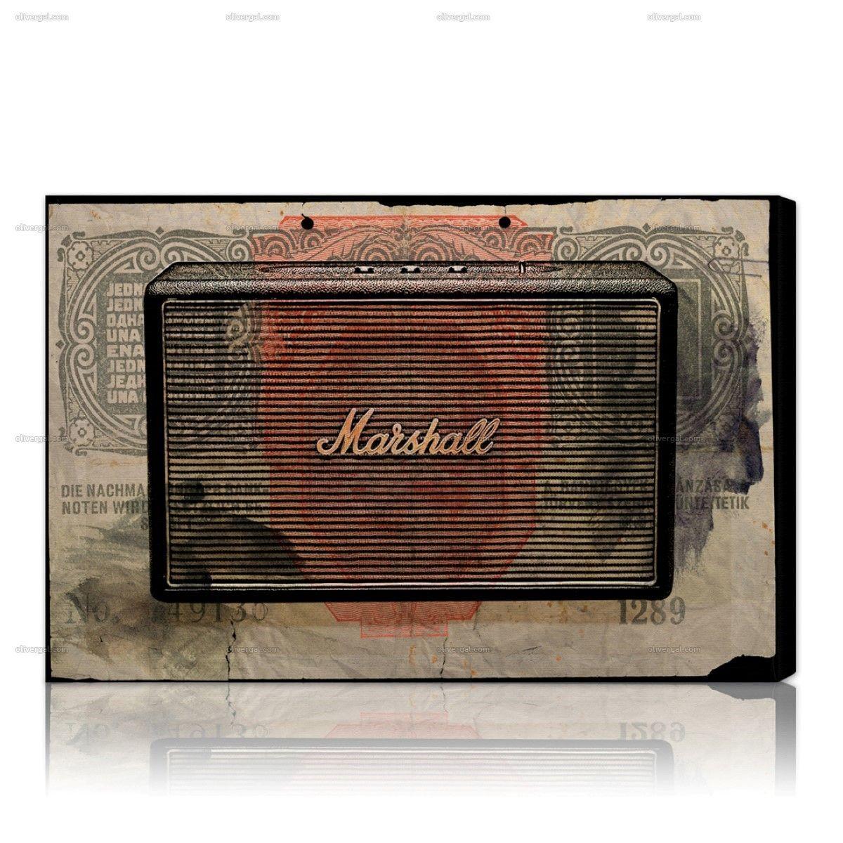 Marshall Audio wall art artwork décor trends london
