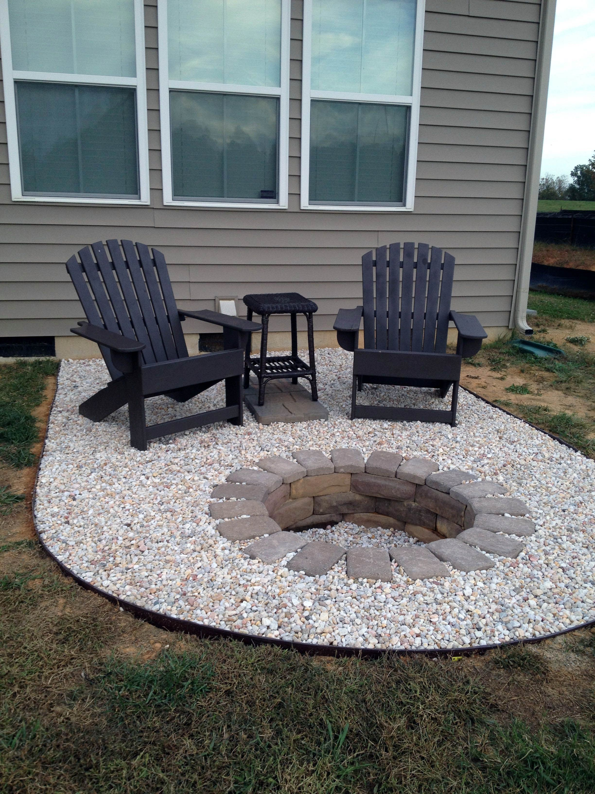 Fabulous Ideas For Outdoor Fire Pit Areas Exclusive On Homesable Com Cheap Fire Pit Backyard Fire Backyard Makeover