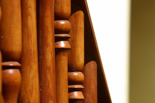 How To Clean Sticky Wooden Handrails Wood Railing