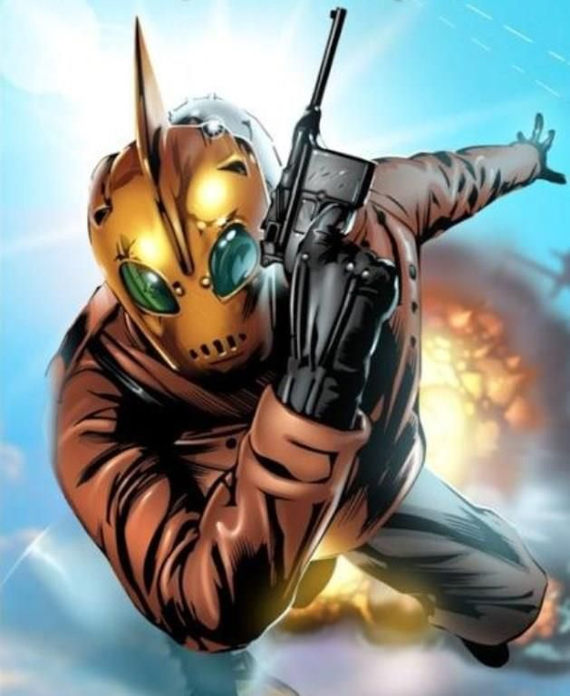 The Rocketeer by Dave Stevens | * Comics: Vigilantes ...