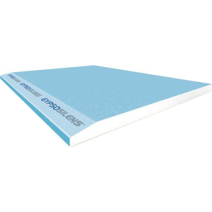 Plaque Gypsosilens Nf 2 6 X 1 2 M Ba13 Entraxe 60 Cm Fassa Bortolo Plaque De Platre Platre Et Plaque