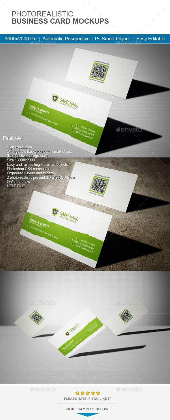 Photorealistic business card mock up mockup business cards and photorealistic business card mock up colourmoves