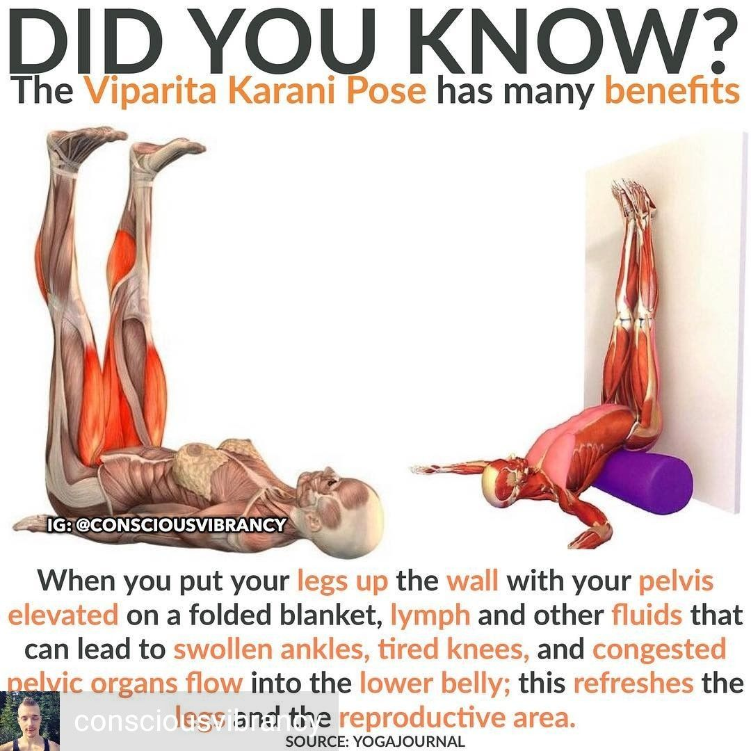 Legs Up The Wall Sciatica