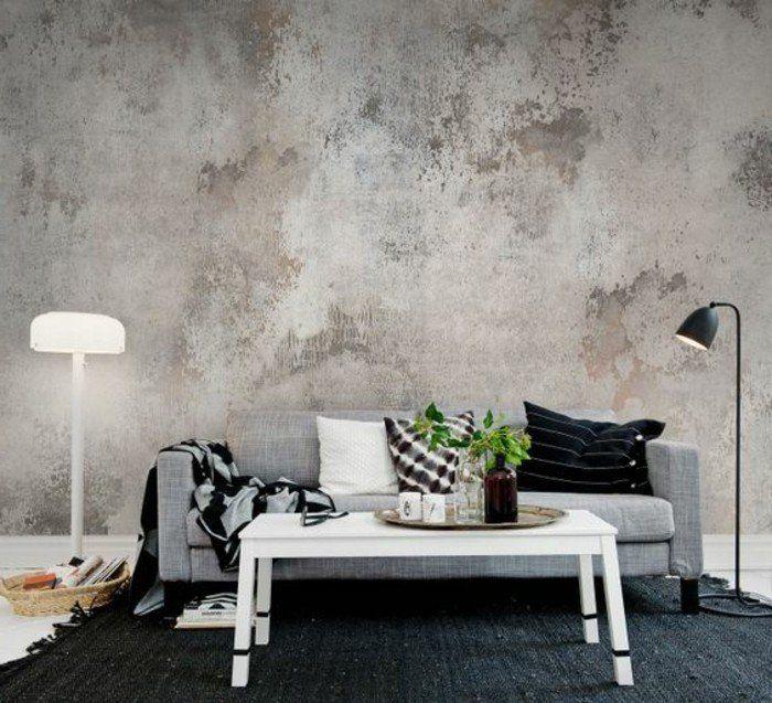 les papiers peints design en 80 photos magnifiques salons wall paintings and walls