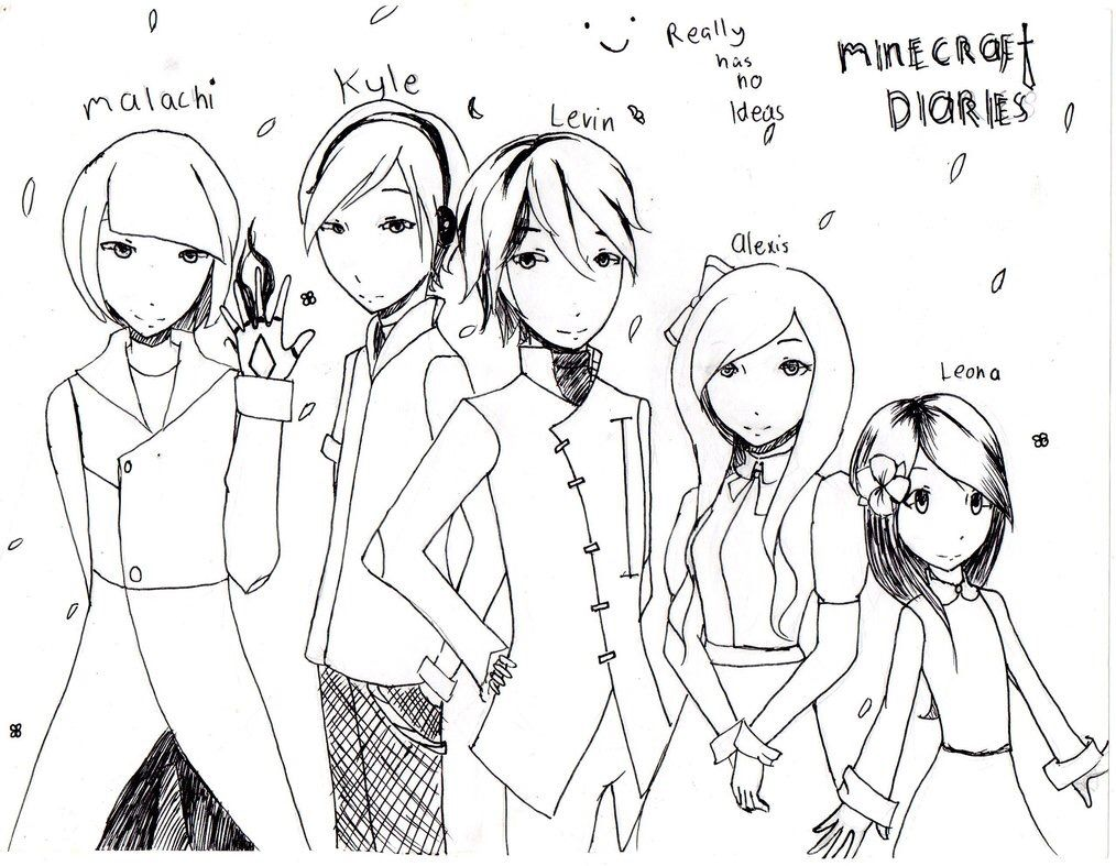 The Kids In Minecraft Diaries Grew Up To Fast Dx Aphmau