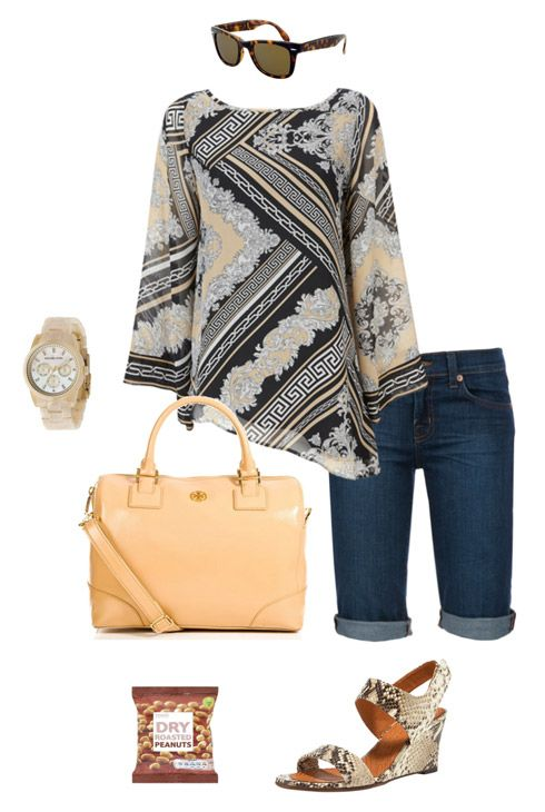 4e86837872e Great tunic and shorts outfit for summer