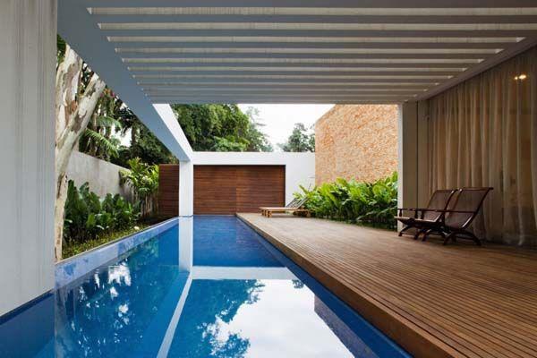 Coolest Swimming Pool Design Ideas: Elegant Indoor Swimming Pool Design  With Wooden Floor ~ Pool