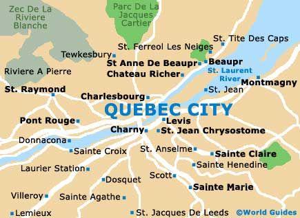 Map Of Quebec City Google Search Quebec City Quebec Tourist