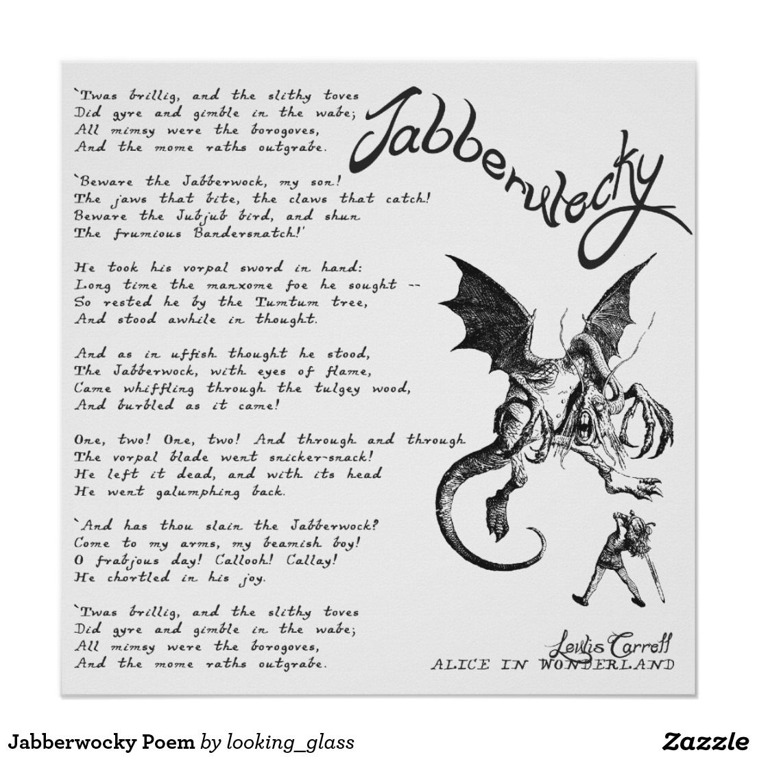 jabberwocky poem wallpaper - Google Search | POETRY | Pinterest ...