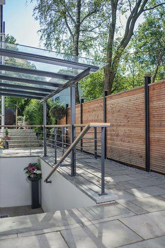 terrassenüberdachung mit sonnenschutz, terrassendach, vordach #Überdachungterrasse