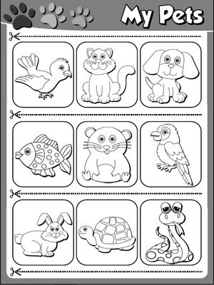 Funtastic English 1 1st Graders Pets Preschool Kindergarten Lessons Kindergarten Worksheets