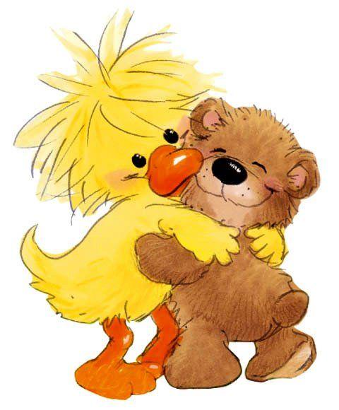 Suzy's Zoo - Suzy and Bear Hug | Suzy, Hug, Hug quotes