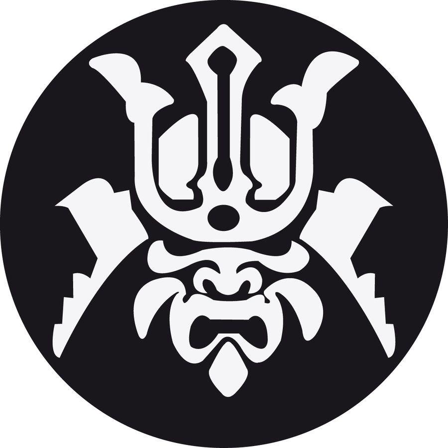 Samurai mask by xvitux on deviantart