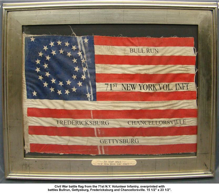 American Flag From The Civil War Era 1865 Civil War Battles Battle Flag Civil War Flags