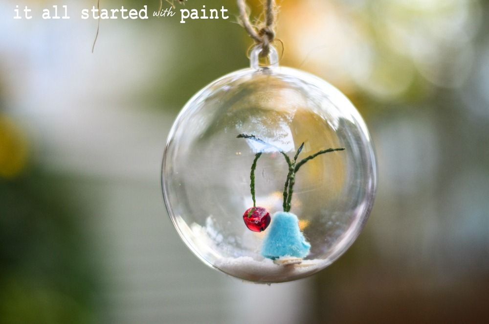 Glass Ball Ornaments Decorate Charlie Brown Christmas Tree Ornament  Charlie Brown Christmas