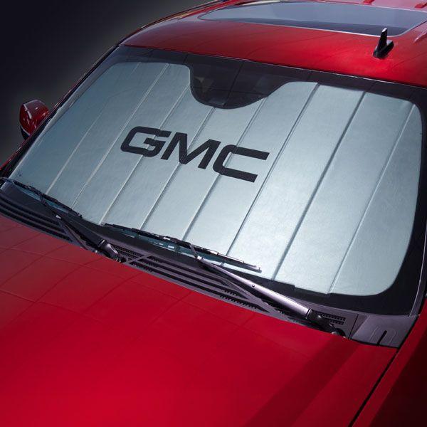 2015 Yukon Xl Sunshade Package Silver With Gmc Logo Gmc Trucks